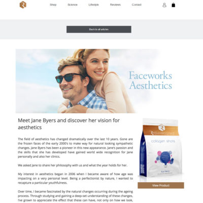 Faceworks Aesthetics guest blog Rejuvenate