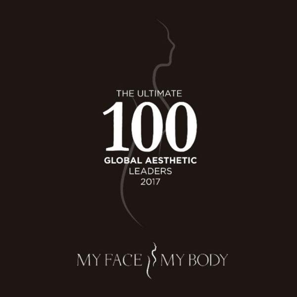 Faceworks named Ultimate 100 Aesthetics Practitioner